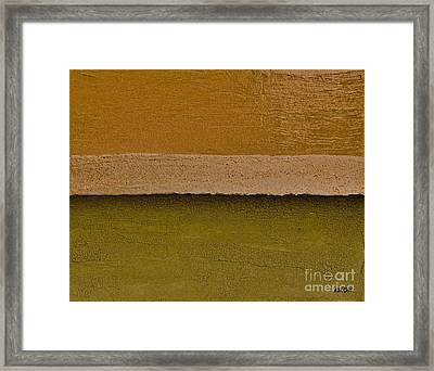 Layer After Layer Framed Print by Marsha Heiken