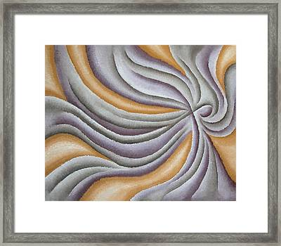 Layers Clx Framed Print