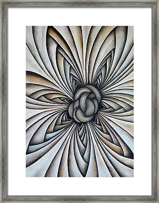 Layers Clxxxvii Framed Print