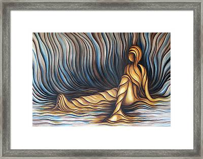 Layers Cxl Framed Print