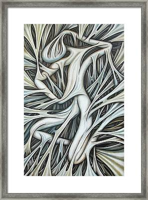 Layers Cxx Framed Print