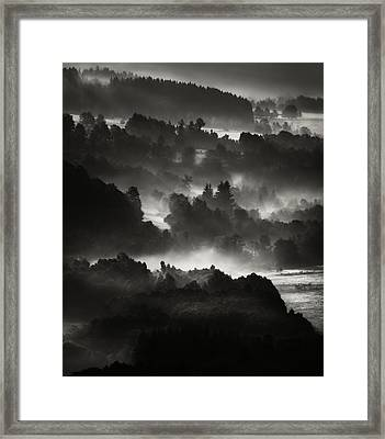 Layers Framed Print by Jaromir Hron