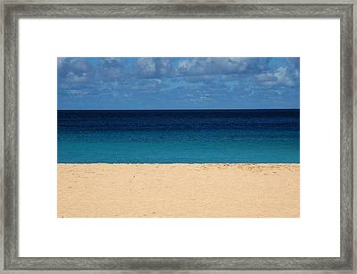 Layers Framed Print by Jonathan Schreiber