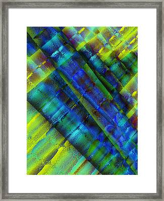 Framed Print featuring the photograph Layers Of Blue by David Pantuso