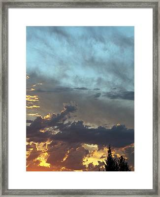 Layers Of Dusk Framed Print by Glenn McCarthy Art and Photography