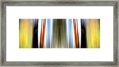 Layers Of Time Framed Print by Danny Lally