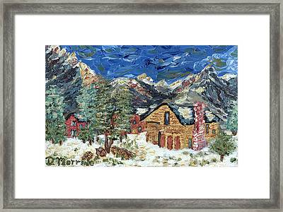 Framed Print featuring the painting Lazy Day In Frisco by Denny Morreale