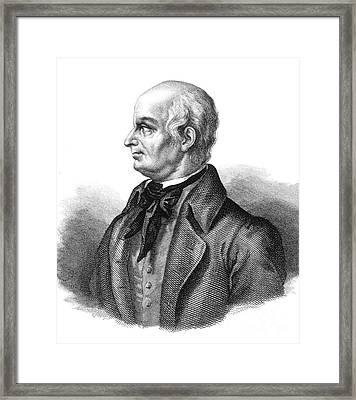 Lazzaro Spallanzani, Italian Biologist Framed Print by Science Source