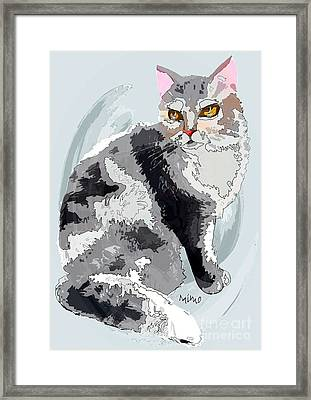 Le Chat Framed Print