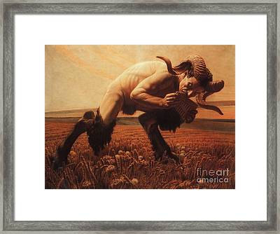 Le Faune  Framed Print by Pg Reproductions