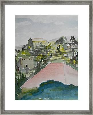 Le Liban Perdu 1  Framed Print by Marwan George Khoury