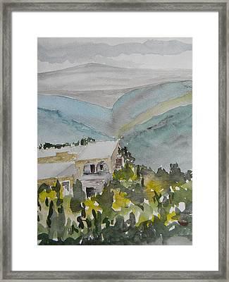 Le Liban Perdu 2 Framed Print by Marwan George Khoury