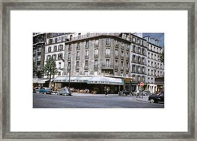Le Select Framed Print by Theo Bethel