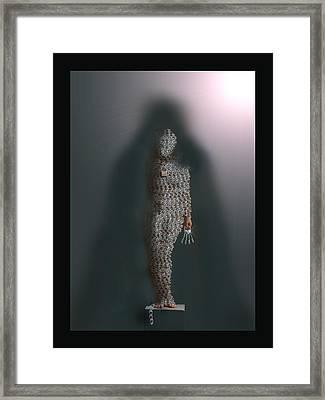 Lead Into Temptation Framed Print by LeAnne Hosmer