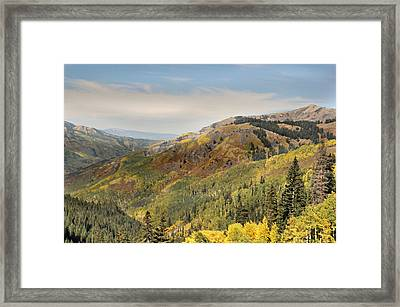 Lead King Basin Road 2 Framed Print by Marty Koch