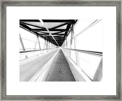 Leading Lines Framed Print