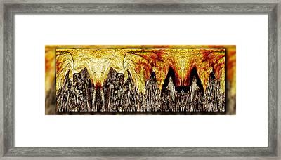 Leaf Meld Framed Print by Tim Allen