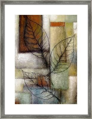Leaf Whisper 2 Framed Print by Leon Zernitsky