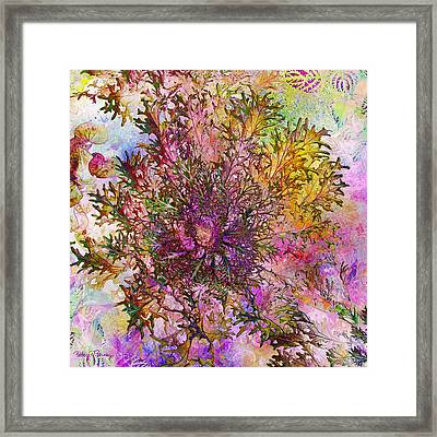 Leafy Greens Framed Print by Barbara Berney