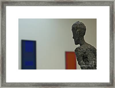 Leaning In Framed Print by James Knights