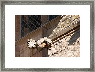 Framed Print featuring the photograph Leaning Over by Andrew  Michael