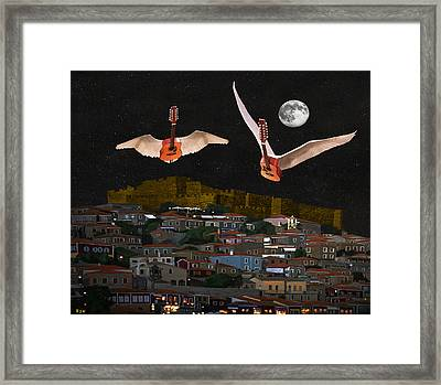 Learn To Live Framed Print by Eric Kempson