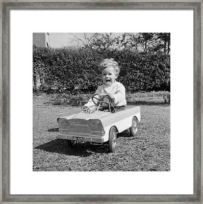 Learner Driver Framed Print by John Pratt