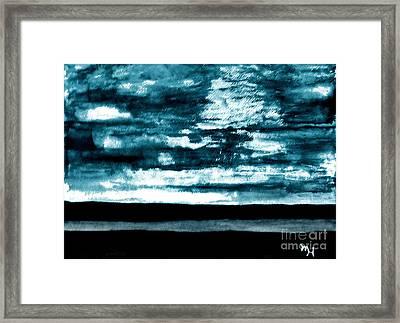 Leary Blue Skies Framed Print