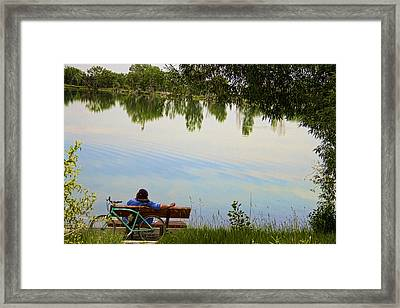 Leisure Afternoon Framed Print