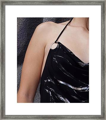 Leather And Skin Framed Print by Gilbert Artiaga