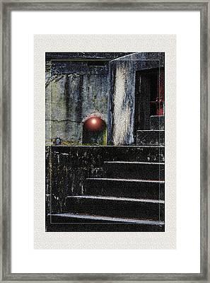 Leave The Light On Framed Print