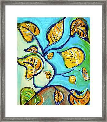 Leaves Of Hope Framed Print