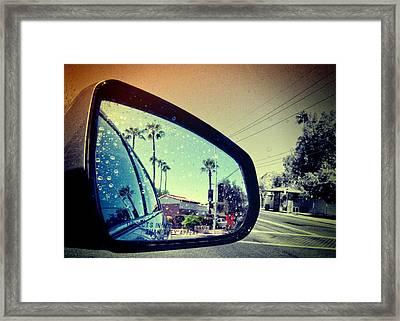 Leaving Las Vegas Framed Print by Susan Stone
