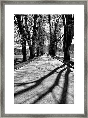 Leaving Mondsee Framed Print by Lauri Novak