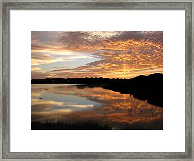Framed Print featuring the photograph Leaving Now by Bill Lucas