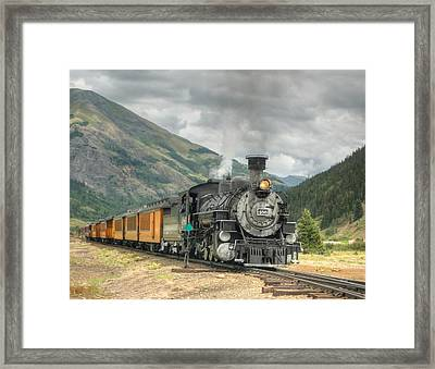 Leaving Now Framed Print by Ken Smith