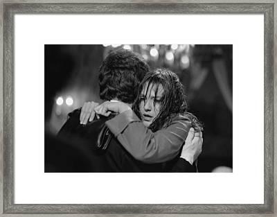 Leaving You Framed Print by Emanuel Tanjala