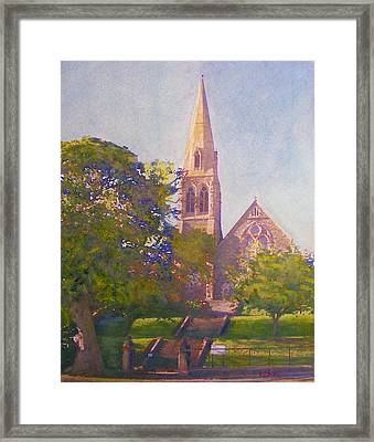 Leckie Memorial  Church  Peebles Scotland Framed Print by Richard James Digance