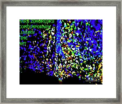 L'ecstasie Et L'agonie D'absolom Framed Print by Contemporary Luxury Fine Art