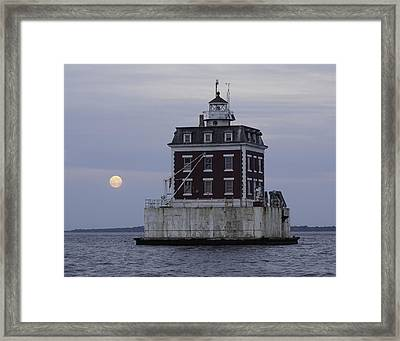 Ledge Light Framed Print