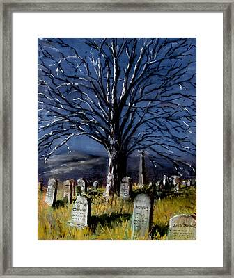 Left Alone Framed Print by Jack Skinner