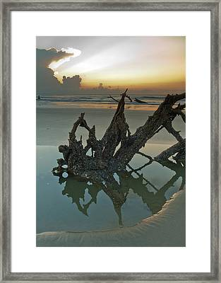 Left Behind Framed Print