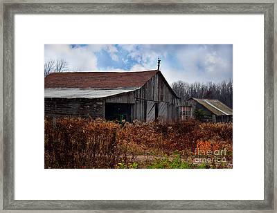 Left Behind Framed Print by Ms Judi