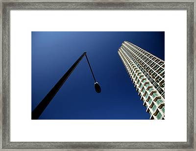 Left Of Centre Point Framed Print by Jez C Self