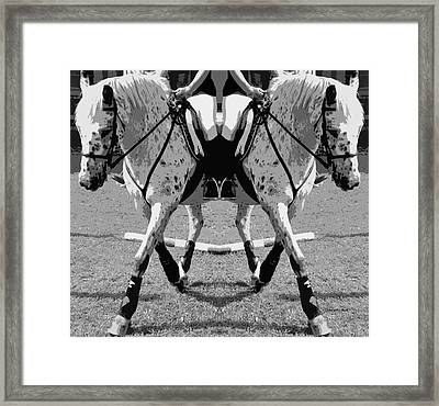 Left Or Right Framed Print by Betsy Knapp