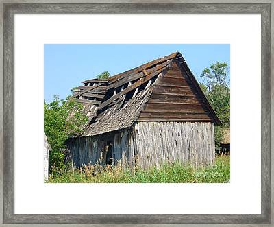 Framed Print featuring the photograph Left To The Elements by Jim Sauchyn