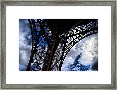 Framed Print featuring the photograph Leg Lattice by Edward Myers