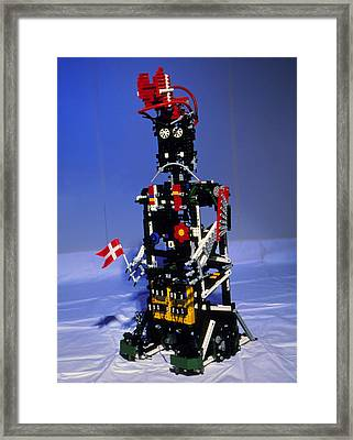 Lego Humanoid Robot Known As Elektra Framed Print