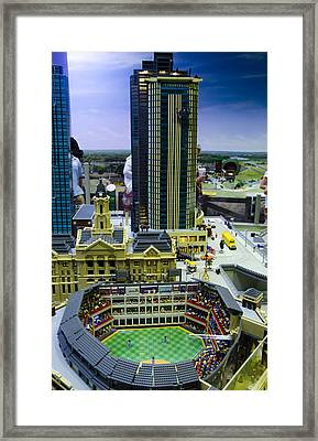Legoland Dallas I Framed Print