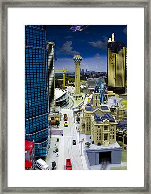 Legoland Dallas Iv Framed Print
